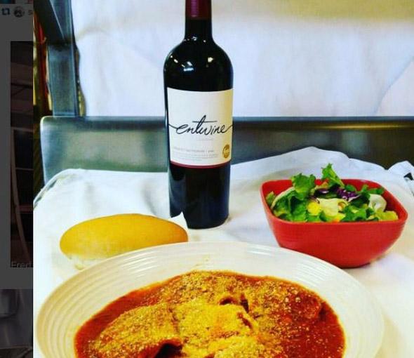 Italian Food Restaurant in Grandview Pasta Salad Wine