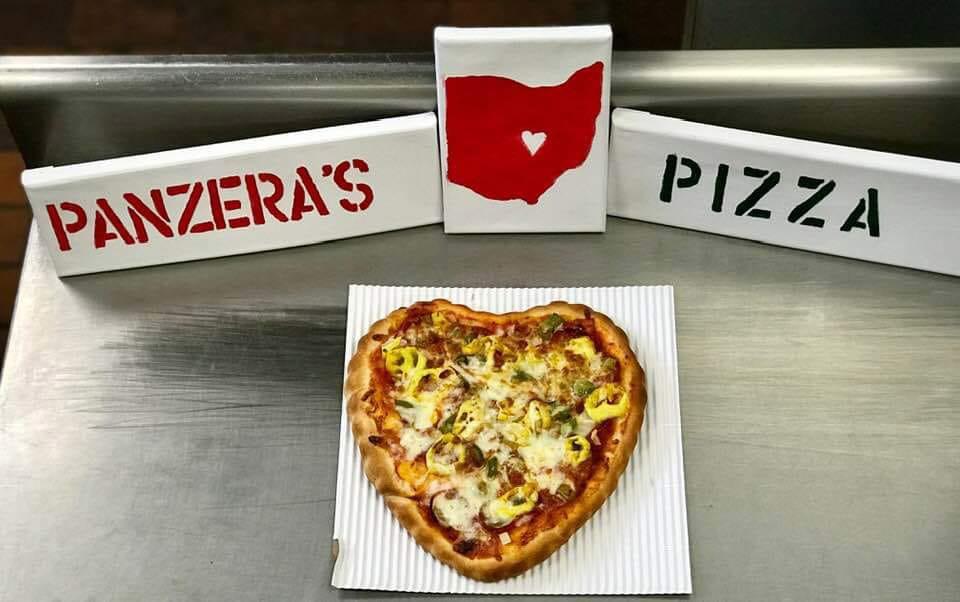 Paneras Pizza Love in Grandview Ohio