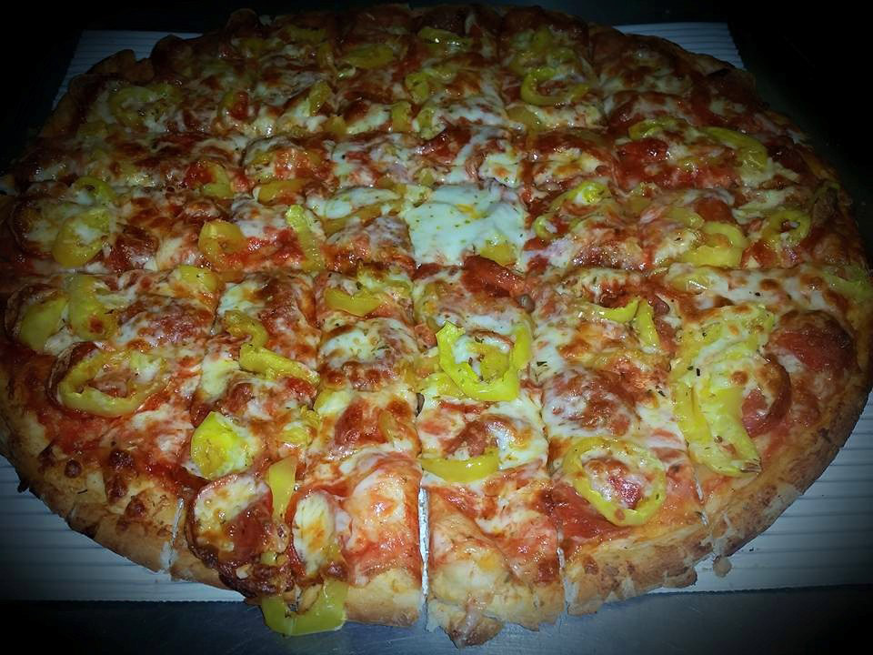 Pepperoni and Banana Peppers Pizza in Grandview